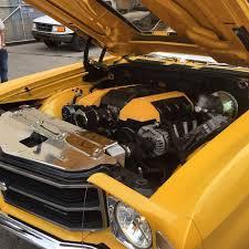 roadster shop u0027s 70 chevelle custom louvered hood back in black