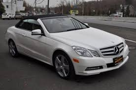 white mercedes convertible export used 2013 mercedes e350 convertible white on beige