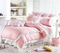 Princess Duvet Cover Solid Pink Quilt Queen Fine Line Pink Pink Queen Size Bedding