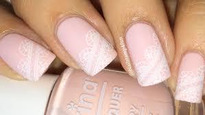 bridal nails wedding nails lace nails nail stamping youtube