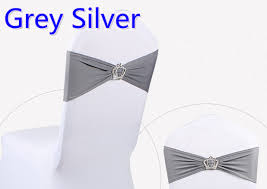 silver chair sashes buy silver chair bows and get free shipping on aliexpress
