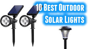 Best Outdoor Solar Led Lights by Best Outdoor Solar Lights Buy In 2017 Youtube