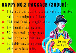clowns for hire for birthday party clown badut clown service perkhidmatan badut badut di malaysia