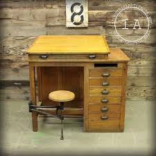 Wooden Drafting Tables by Wooden Drafting Table With Storage Home Table Decoration