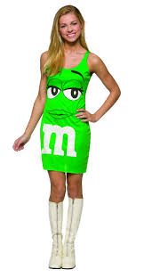 m m costume green m m dress costume costumes