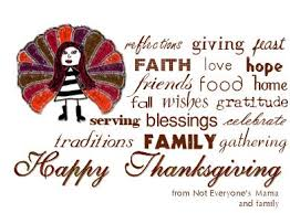 happy thanksgiving not everyone s