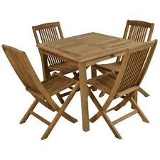 square outdoor dining table teak bistro square outdoor table and chairs free uk delivery