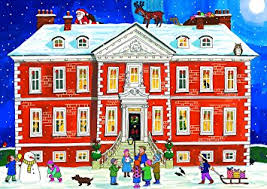 advent calendar alison gardiner country house christmas large traditional advent