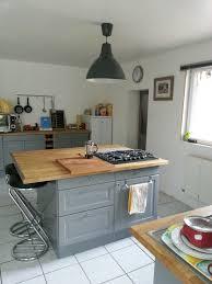cuisine ikea cuisine ikea grise plan de travail bois cuisine