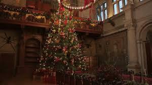 biltmore u0027s annual christmas tree raising celebration youtube