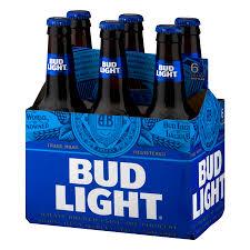 bud light 6 pack cost bud light beer 6 pk 12 0 fl oz walmart com