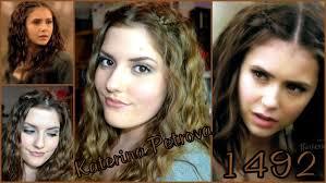 petrova katherine 1492 haar und makeup tutorial
