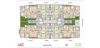 floor plan 1 estrella terraces