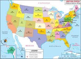 united states map states and capitals names usa abbreviations map printable usa states capitals map names