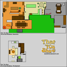 make my own floor plan images about that 70s show on the forman residence floor