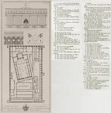 Floor Plan Of A Mosque by View Section Plan And Floor Plan Of The Convent And The Church Of