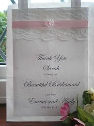 personalized wedding gift bags wedding gift ideas for bridesmaids uk imbusy for