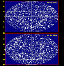 Star Maps All Sky Optical And Submillimeter Star Maps