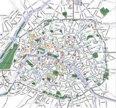 France Cities Map by France Political Map Paris Tourist Map Paris City Map Paris Metro