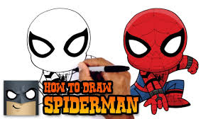 draw spiderman spiderman homecoming