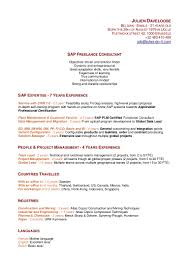 Qtp 2 Years Experience Resume Sap Security Resumes 2 Years Experience Youtuf Com