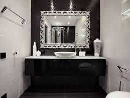 Bathroom Under Sink Storage Black And White Bathroom Shower Curtain Box Light Shade Wall Lamp