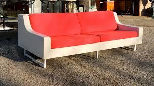 IndoorOutdoor Vintage Fiberglass Sofa For Sale At Stdibs - Indoor outdoor sofas 2