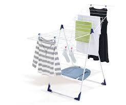 naturally dry your clothes indoors with these helpful products leifheit standing dryer classic 250 flex