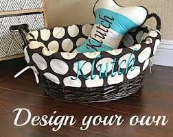 personalized basket basket etsy