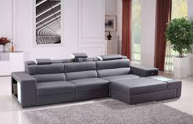 Abbyson Living Bedford Gray Linen Convertible Sleeper Sectional Sofa Collection Abbyson Living Bedford Gray Linen Convertible Sleeper
