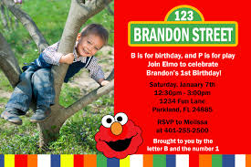 sesame street invitations template how to create elmo birthday party invitations templates