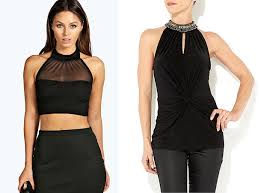 halter neck blouse look bold and beautiful with the right halter neck blouse