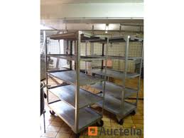 Shelves On Wheels by 2 Stainless Steel Shelves On Wheels