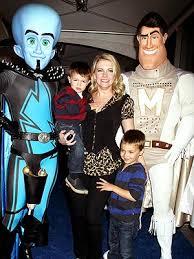 Megamind Halloween Costumes Spotted Melissa Joan Hart U0027s Boys Meet Megamind U2013 Moms U0026 Babies
