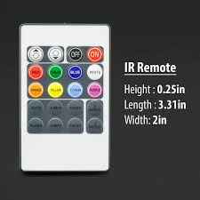 Led Strip Lights Remote Control by Rgb Led Controller For Rgb Driverless Led Strip Light With Ir Remote