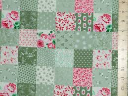 Patchwork Shops Uk - patchwork cotton fabric green