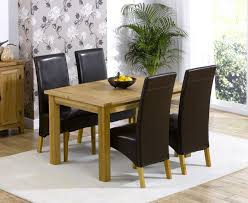 Oak Dining Tables For Sale 20 Collection Of Oak Dining Tables And Leather Chairs Dining