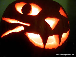 cat face pumpkin quick and easy carving with rotozip power tool
