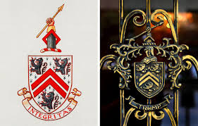 the coat of arms said u0027integrity u0027 now it says u0027trump u0027 the new