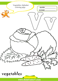 kids under 7 letter v worksheets and coloring pages