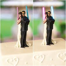 nerdy wedding cake toppers wars wedding cake toppers