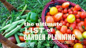 garden planning resources the free range life