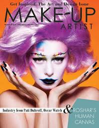 find makeup artists issue 111 of make up artist magazine is the design issue