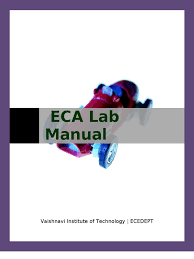100 digital electronics lab manual for ece eca lab manual