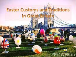 презентация к уроку английского языка easter customs and