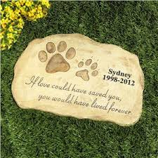 pet memorial garden stones pet memorial garden personalized pet gifts lillian