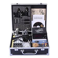 amazon com shark professional tattoo kit 4 machines gun carry