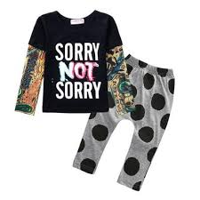 sun moon newborn baby clothes casual baby clothing sets t
