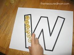 writing paper for letters writing the alphabet for preschoolers the letter w the measured mom make w12