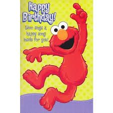 elmo birthday elmo birthday sound card co uk kitchen home